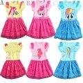 Mi Fantasía Niñas Pony de alta calidad Vestidos de Fiesta vestido de Bola con Ala Pokemon Disfraces para Niñas Tutú de Año Nuevo Elegante traje