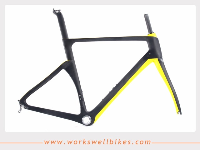 OEM products chinese carbon road bike frame aero 700c bicycle frame ...