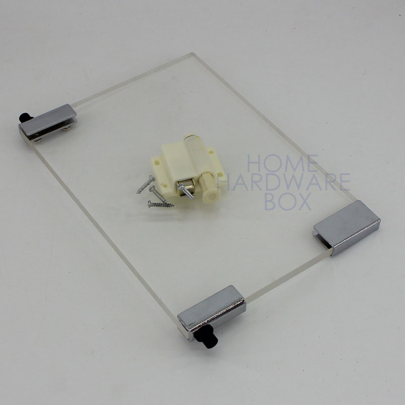 pivot hinge magnet door catch swing glass cl& bracket cabinet push open & Compare Prices on Cabinet Door Magnets- Online Shopping/Buy Low ... Pezcame.Com