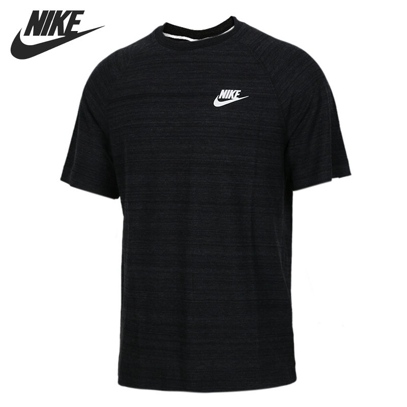 Original New Arrival 2018 NIKE NSW ME AV15 TOP SS KNIT Men's T-shirts short sleeve Sportswear nike w nsw gym vtng drss ss