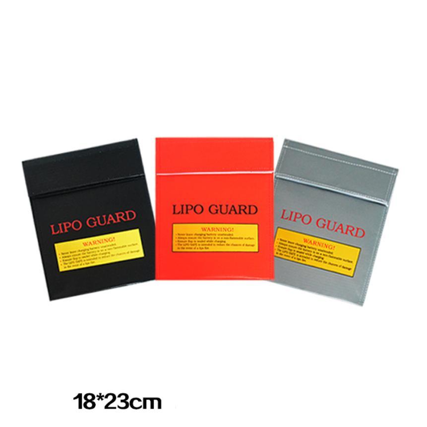 Sozzy HOT LiPo Li-Po Battery Fireproof Safety Guard Safe Bag 18*23MM