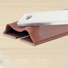Under Door Draft Stopper Energy Saving Wind Blocker Doors Bottom Guard Seal Strip Excluder Protector -- WWO66