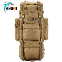 Hot 70L Big Capacity Outdoor Sports Bag Military Tactical Backpack Hiking Camping Waterproof Wear resisting Nylon Rucksack