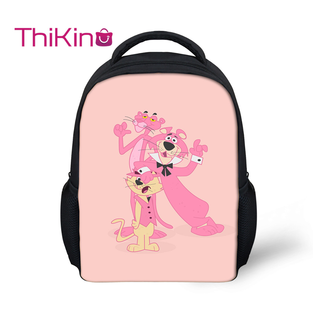 Thikin Book-Backpack School-Bags Pink Daybag Girls Boys Students for Kids Pupil's