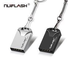 Nuiflash, мини флешка, 64 ГБ, Usb флеш-накопитель, 32 ГБ, USB2.0, флешка, 16 ГБ, 8 ГБ, 4 Гб, флешка, 128 ГБ, с подарочным кольцом, новейший u-диск