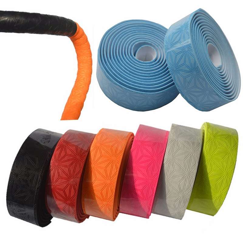 1 Pair Bike Handlebar Tape Cork Anti-slip Handle Belt Bicycle Parts Accessories