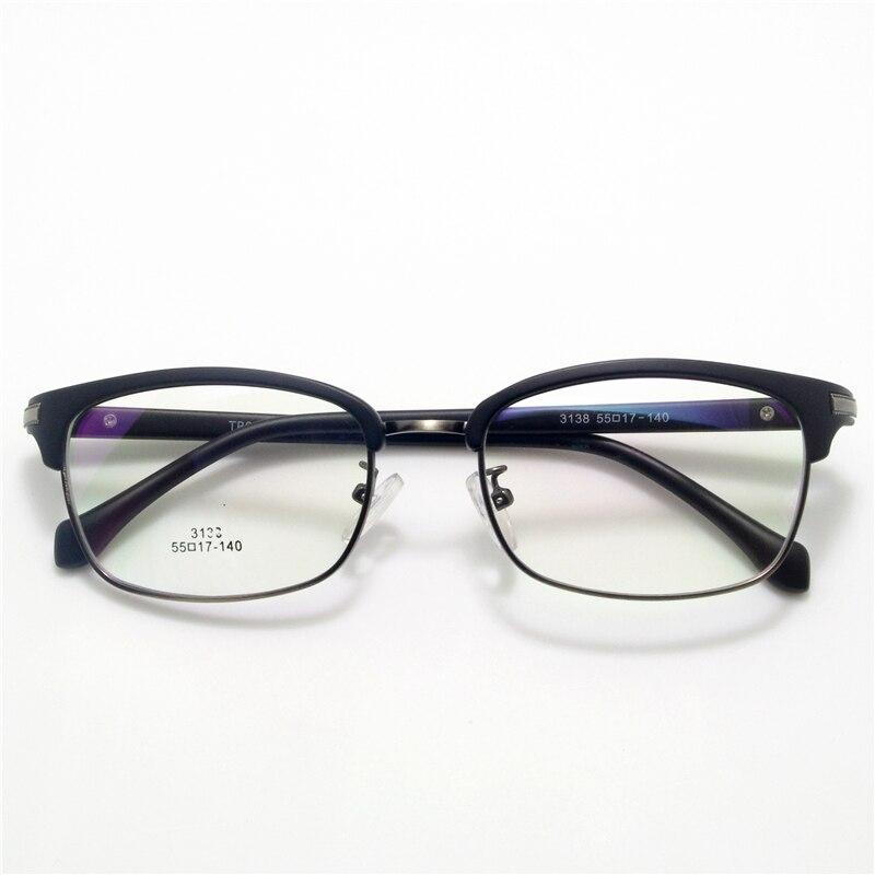 Geuine TR90 Gafas Retro marcos De Anteojos Recetados Miopía Gafas ...