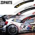 ZDPARTS 2X Автомобильные Защитные наклейки для бровей для Skoda Octavia A5 A7 2 Rapid Fabia Ford Focus 2 3 Fiesta Mondeo MK