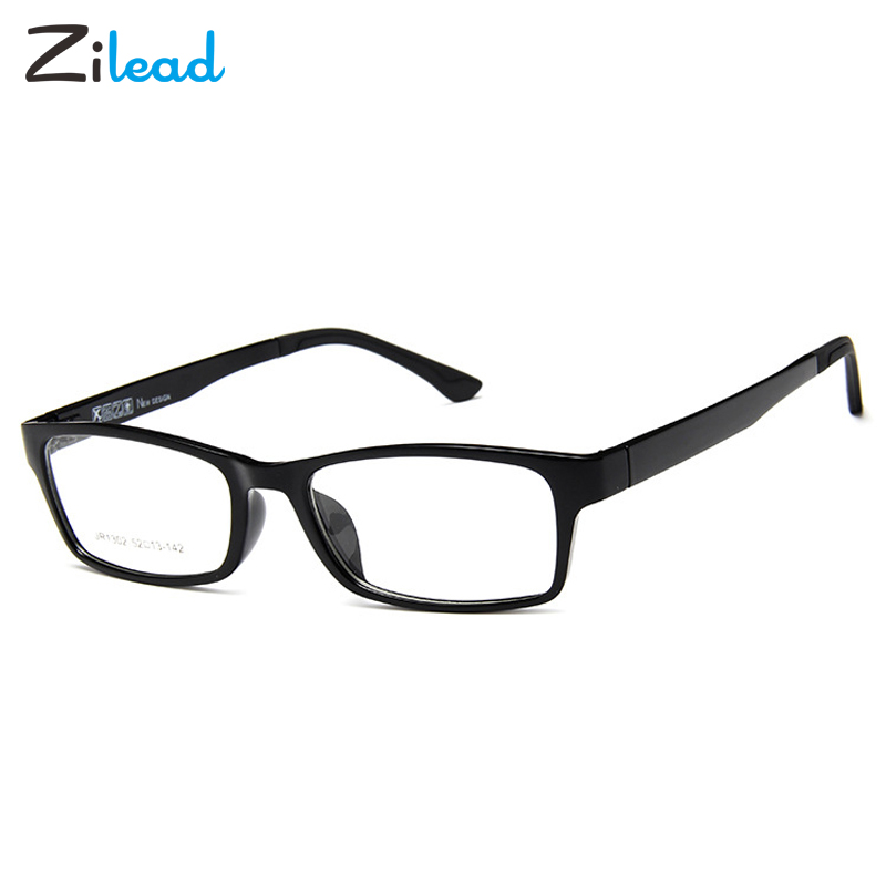 Zilead Ultralight Small Frame Glasse Frame Clear Lens Optical Spectacle For Women Men Plain Eyeglasses Eyewear Unisex