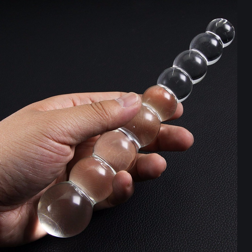 Glass Dildo Women Massager Wand Pyrex Crystal Dildo Lifelike Glass Dildo Crystal Penis Anal Plug Toys Adult toys