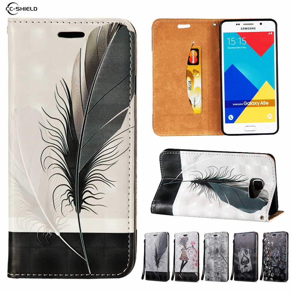 Filp Case for Samsung Galaxy A5 2016 A510 A510F/DS SM-A510f/ds A510FD SM-A510FD Wallet Leather Case Stand Card Hold Phone Cover