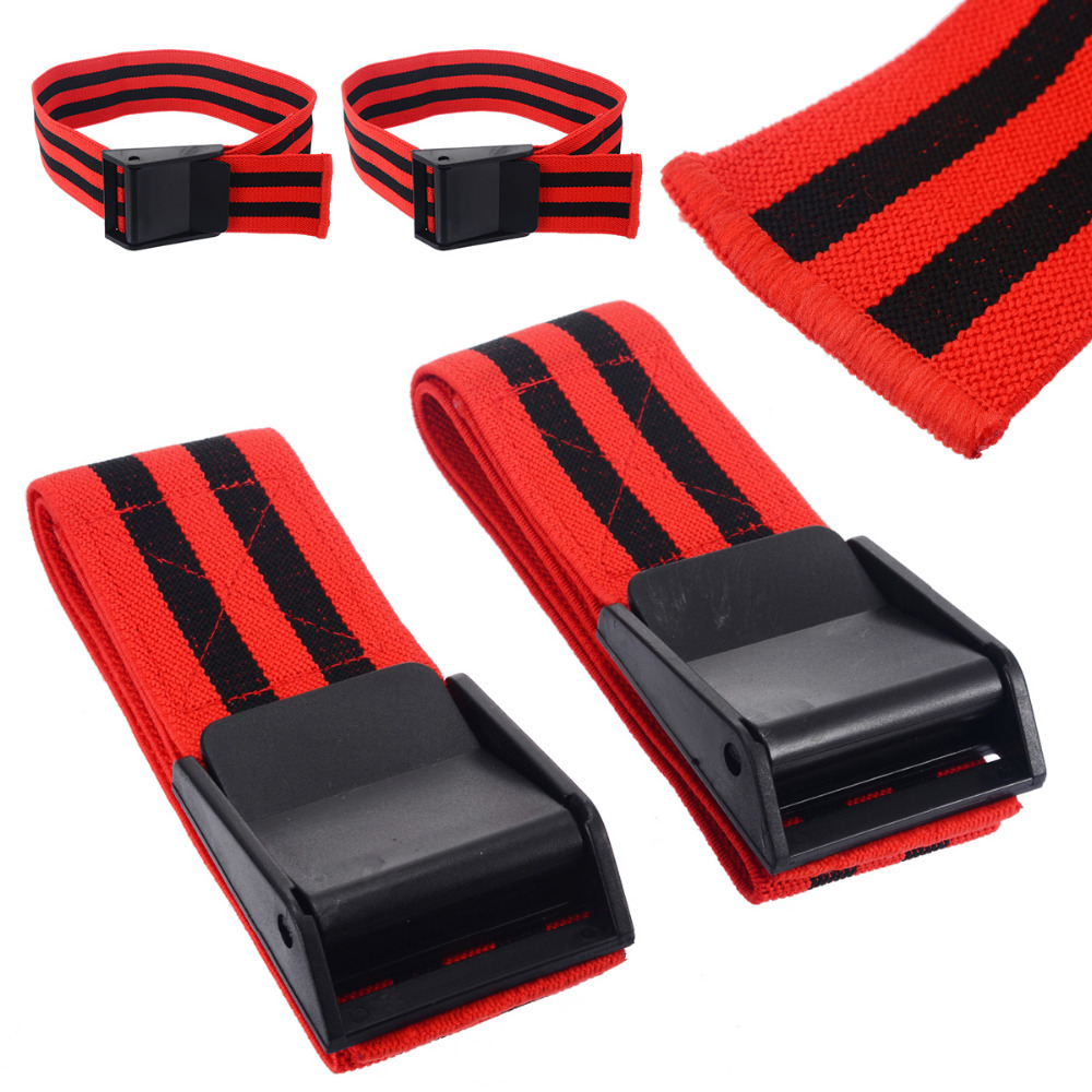 1 Pair Blood Flow Restriction Bands BFR Bands Blood Flow Restriction Occlusion BFR Tourniquet Training Biceps Bands