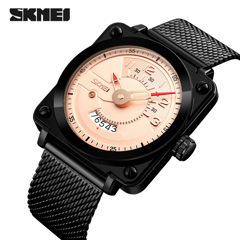 Relojes New Fashion Mens Watches Luxury Brand SKMEI Sport Quartz Watch Waterproof Male Clock Wristwatches relogio masculino starry sky space watch little star silicone watches kids sport quartz watch luxury brand hot boys girls watches relojes mujer