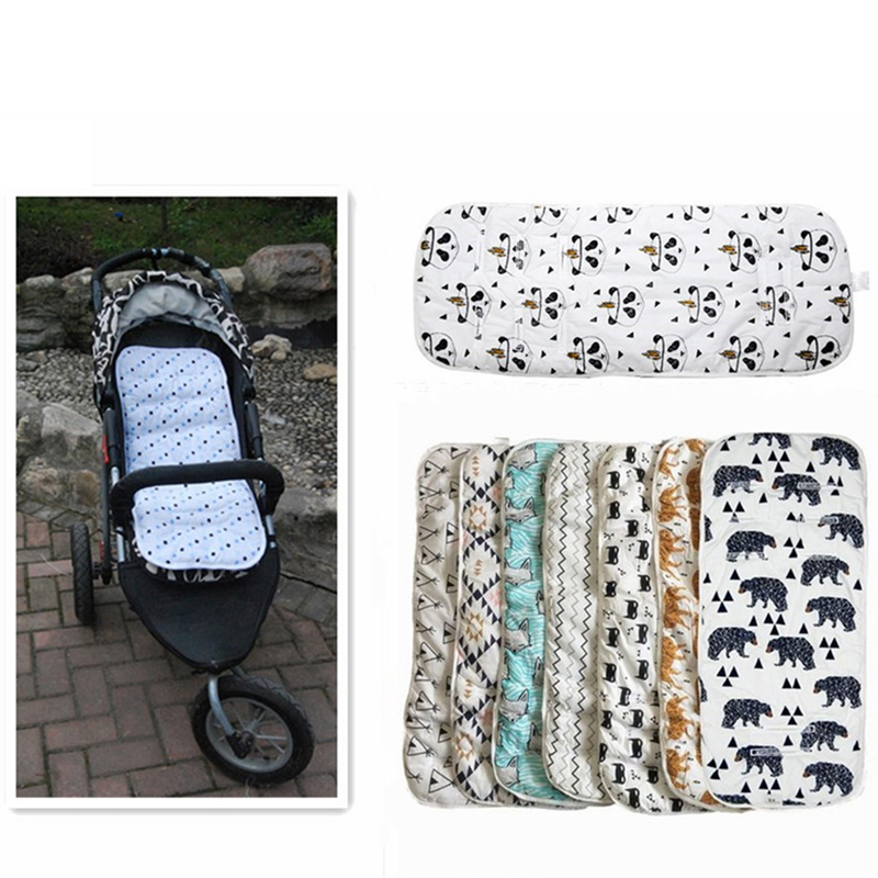 Miracle Baby Stroller Accessories Cotton Diapers Changing Nappy Pad Seat Carriages/Pram/Buggy/Car General Mat for New Born(China)