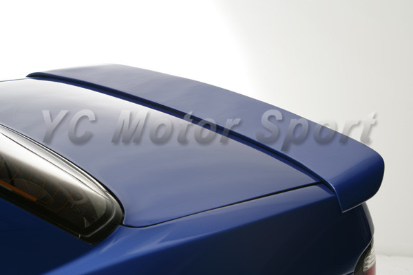 Car Accessories FRP Fiber Glass DM Style Trunk Spoiler Fit For 1989 1994 S13  Silvia PS13 Rear Wing Ducktail