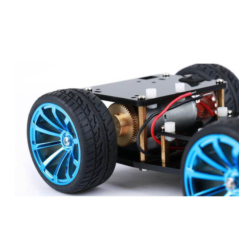 4WD RC Smart Car Chassis  (2)
