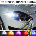 For seat leon ibiza altea toledo accessories 2 Bulbs Xenon White High brightness high-power LED Clearance Lights Marker lamps