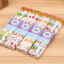 10 pcs lot Cartoon Dog HB Pencil Set For Drawing and Writing Non toxic Pencils High