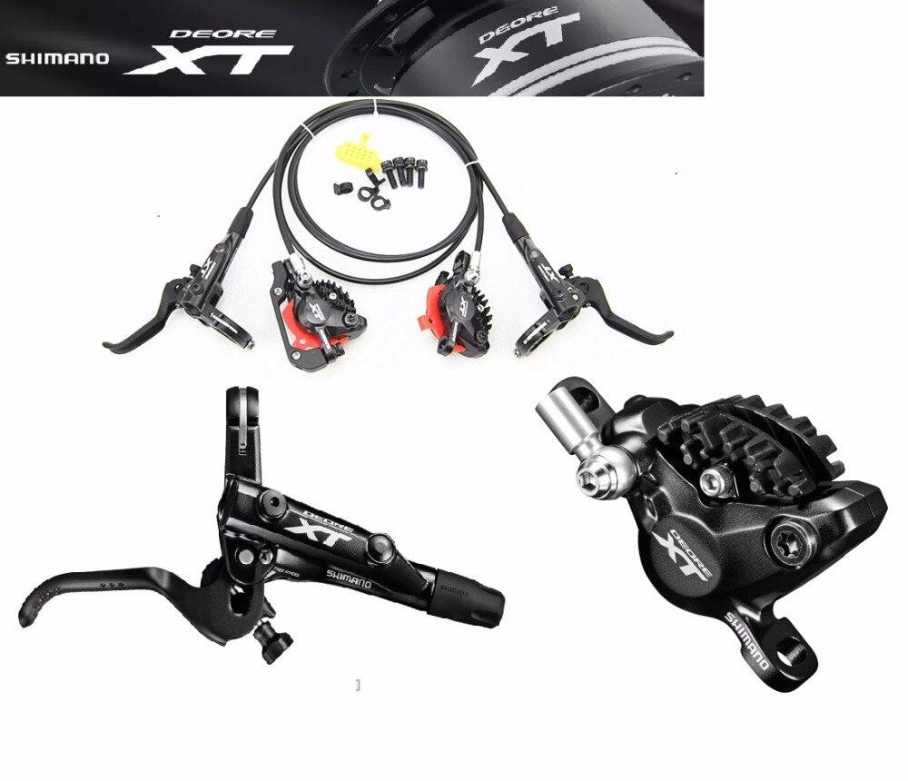Продаж Shimano XT Deore M8000 гидравлический Тормоз MTB дисковый тормоз для XC AM FR DH горный велосипед аксессуары Бесплатная доставка