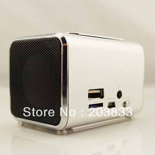 New Music Portable Mini USB Micro SD/TF Mp3 Player SPE05 digital computer speaker wholesale