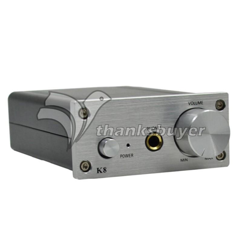 Desktop HIFI Amp ZL K8 Digital Audio Fidelity Headphone Stereo Power Amp Amplifier