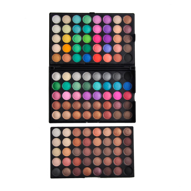 120 Colors Popfeel Eye Shadow Cosmetic Powder Nude Eyeshadow Palette Makeup Matte Natural as picture 2