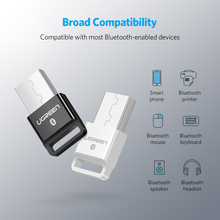 Ugreen Bluetooth Adapter USB Dongle for Computer PC Wireless Mouse Bluetooth Speaker 4.0 Music Receiver USB Bluetooth Adapter
