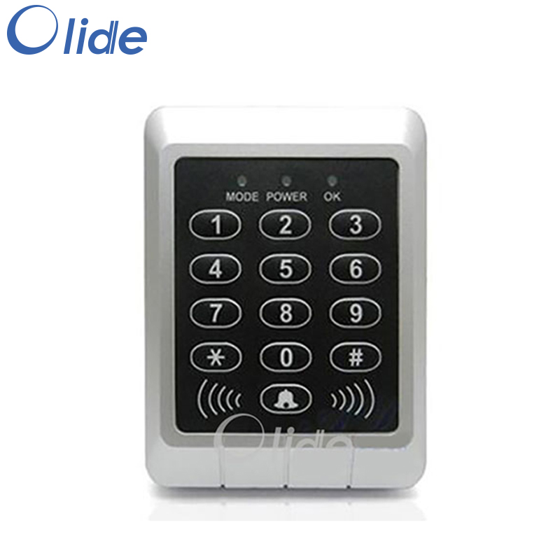 Single Door Entrance Guard RFID Card Reader Access Keypad Integrated Machine With Powful Function Never Lost Dates rs485id card reader rs485 read head 485 entrance guard card reader waterproof head support for secondary development