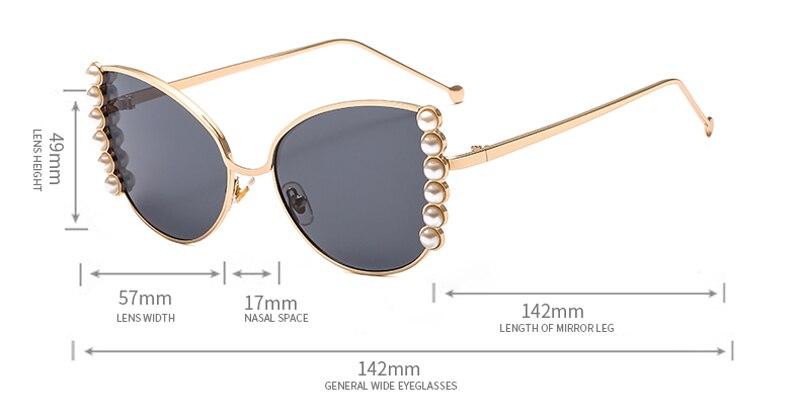 2019 Pearl Sunglasses Women Luxury detail (1)