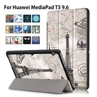 Case For Huawei MediaPad T3 10 AGS L09 AGS L03 9 6 Inch Cover Funda Tablet