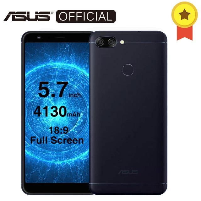 """Asus Zenfone Max плюс (m1) peg ASUS 4S 5.7 """"18:9 полный Дисплей Octa core 4 ГБ Оперативная память 32 ГБ Встроенная память Android 7.0 4130 мАч мобильный телефон 3 слота"""