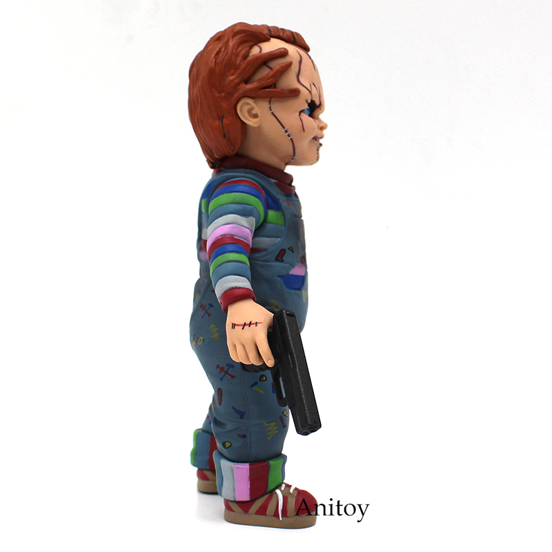 Image 3 - Child's Play Bride of Chucky  1/10 Scale Horror Doll Chucky PVC Action Figure Toy 12cm-in Action & Toy Figures from Toys & Hobbies