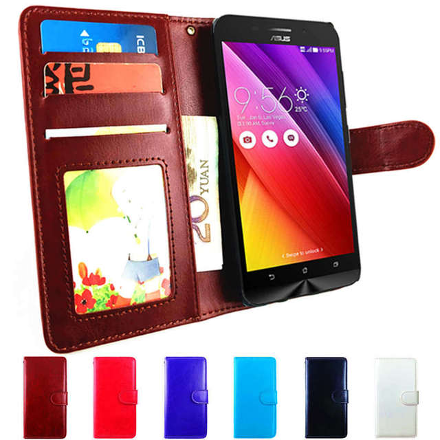 huge discount e3c12 b5f9b US $3.69 20% OFF Z00VD Phone Flip Case For ASUS Zenfone Go ZC500TG 5.0 Case  Wallet Leather Cover for ASUS Live G500TG Case Skin Shell ZC 500TG G-in ...