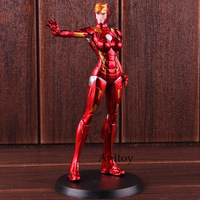X FACTION Action Figures Marvel Iron Man Iron Lady Pepper Potts PVC Collectible Model Toy