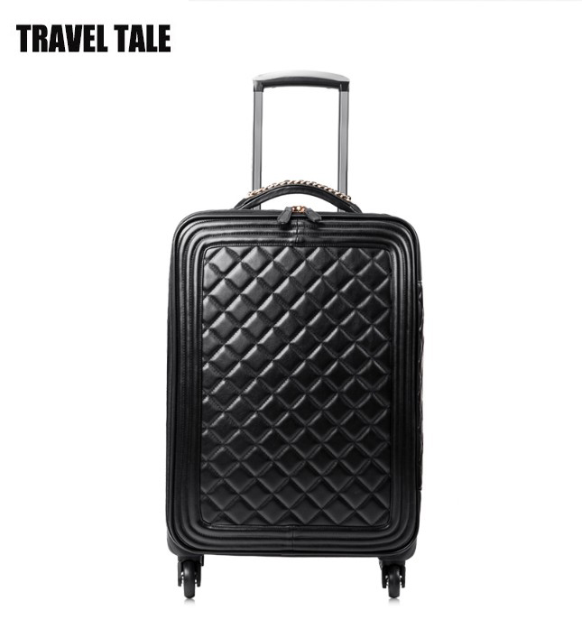 Compare Prices on Leather Rolling Luggage- Online Shopping/Buy Low ...