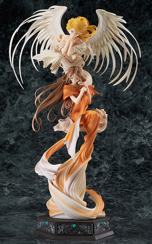 Comic Anime Ah My Goddness 25th anniversary 32CM sexy girl Collection toys Huge Figure Figurine Toys