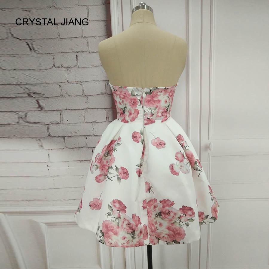 CRYSTAL JIANG 2018 Απλό σχέδιο γλυκιά Floral - Ειδικές φορέματα περίπτωσης - Φωτογραφία 2