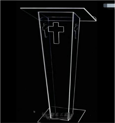 Free Shipping Logo Customize Acrylic Pulpit  Modern And Stylish 2019 Acrylic Pulpit Church