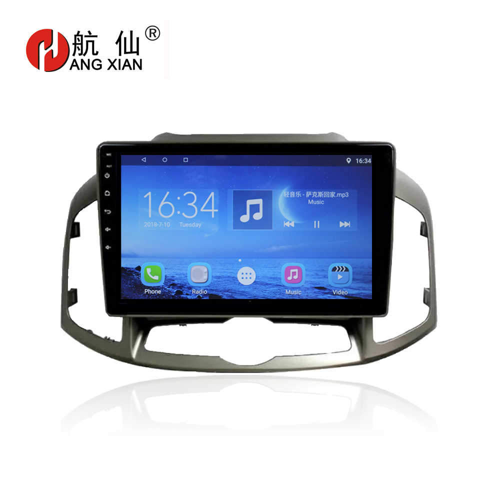"Hang xian 10.1 ""Quad Core Android 7.0 Auto Dvd-speler Voor Chevrolet Captiva 2017 auto radio multimedia GPS Navigatie BT, wifi, SWC"