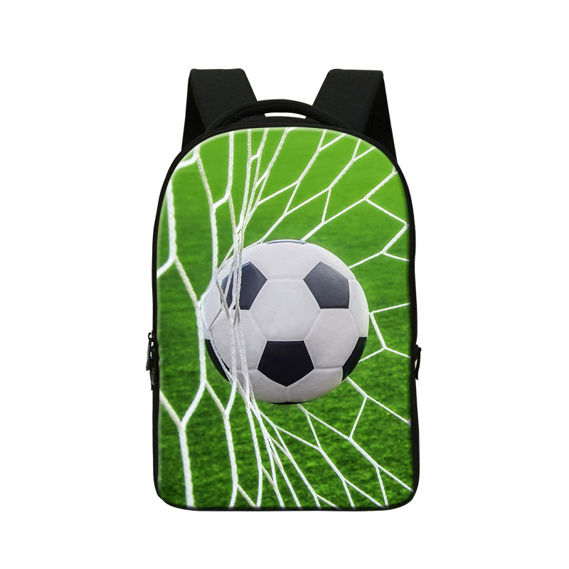 ball print backpack for boys cool school bag for college students fashion school bookbags for teenagers travling back pack