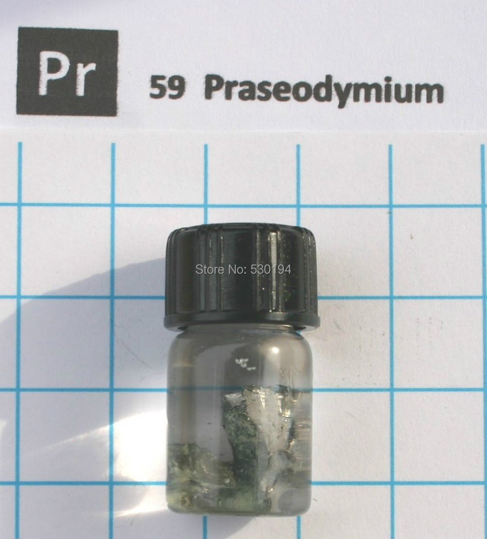 10 gram 99.9% Praseodymium Metal in glass vial - Element 59 sample виниловые пластинки patti smith live in germany 1979 180 gram