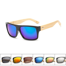 Bamboo Vintage Eyewear Sport Mens Wood UV400 Sunglasses Brand Designer Male Luxury Round Outdoor Fishing Glasses Women with Box