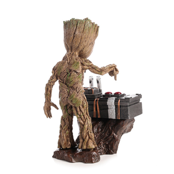 Moward Groot Wisun Movie Tree Man Baby Action Figure Hero Model Guardians of The Galaxy Model Toy Desk Decoration Gifts for Kid 1