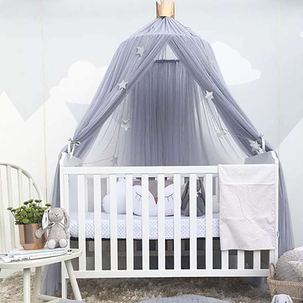 Bed Gordijn Kind Babybedje Tenten Babybed Gordijn Bed Gordijn Hung Dome Muskietennet Kamer Decoratie Crib Verrekening