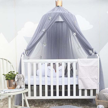 Baby Crib Tents Baby Bed Curtain Bed Curtain Hung Dome Mosquito Net Room decoration Crib Netting Drop Shipping стоимость