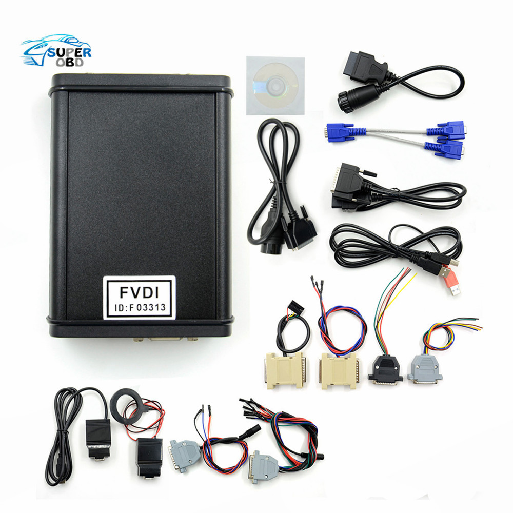 New arrive BEST 2014 version FVDI Full Version high quality FVDI ABRITES Commander FVDI Diagnostic Scanner in stock DHL Free