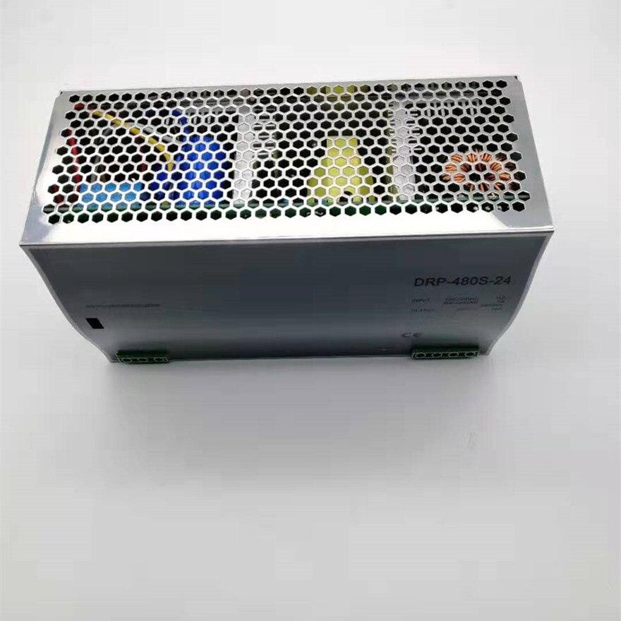 480 W alimentation à découpage 12 v 24 v 48 v DC type de rail Din DC AC DRP480W commutateur de sortie unique transformateur LED pilote SPMS - 5