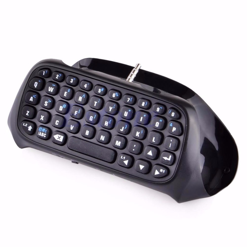New Wireless Bluetooth Keyboard Keypad Chatpad For Game 4 Controller PS4 PlayStation