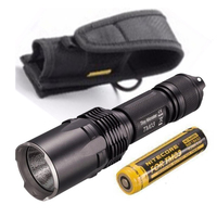 Tiny Monster Series Nitecore TM03 TM03 CRI CREE XHP70 LED Tactical Powerful Flashlight 2800 Lumens with 18650 Battery