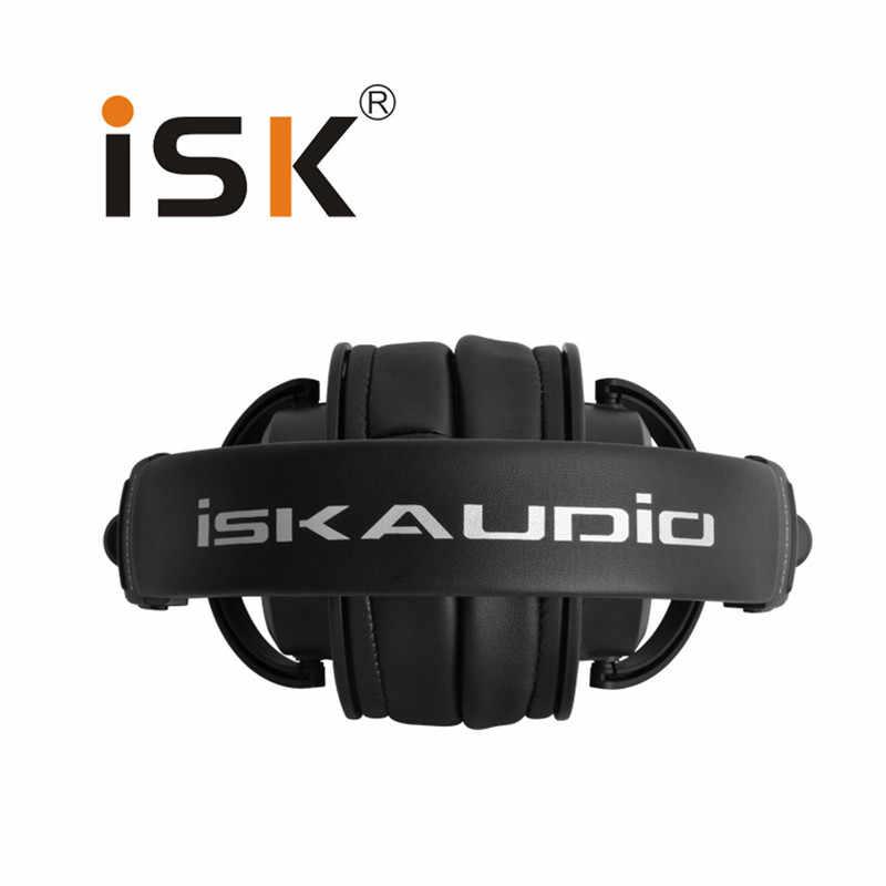 ISK MDH9000 полностью закрытых профессиональный монитор гарнитура наушники Auriculares Hifi наушники ecouteur компьютера К песню наушники